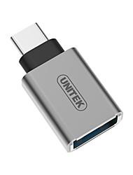 Unitek USB 3.0 Tipo C Adaptador, USB 3.0 Tipo C to USB 3.0 Adaptador Macho - Hembra