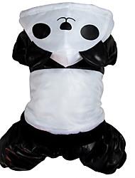 Chien Costume Vêtements pour Chien Cosplay Animal Noir