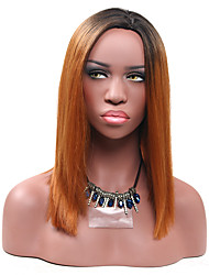 Medium Brown Straight Wigs for Women Costume Cosplay Synthetic Wigs
