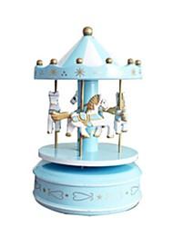 Music Box Carousel Plastics
