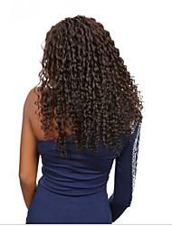 Premier prix abordable 100% brésilien sans transformation des cheveux humains vierges glamour bouclés pleins de dentelle perruques avec