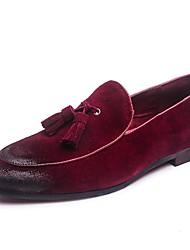 Для мужчин обувь Натуральная кожа Кожа Весна Лето Осень Зима Оригинальная обувь Формальная обувь Мокасины и Свитер С кисточками Назначение
