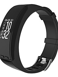 Women's Men' 0.96'' OLED GPS Outdoor Sport Smartband Heart Rate Monitor Altitude Temperature Measure Pedometer Sport Smart Bracelet