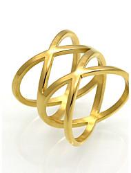 Муж. Жен. Классические кольца Бижутерия По заказу покупателя Хип-хоп Rock Мода Винтаж Богемия Стиль Панк Титан Круглой формы В форме