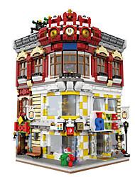 XingBao 01006 Block 5491Pcs Genuine Creative MOC City Series The Toys and Bookstore Set Building Blocks Bricks Toy Model Gift