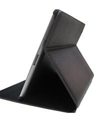 Назначение Чехлы панели со стендом С функцией автовывода из режима сна Чехол Кейс для Сплошной цвет Искусственная кожа для iPad 4/3/2