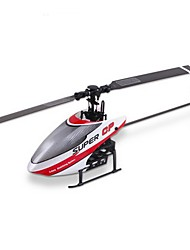 Walkera Super CP with DEVO 7E Transmitter 6CH Flybarless 3D RC Helicopter Designed for Beginner RTF