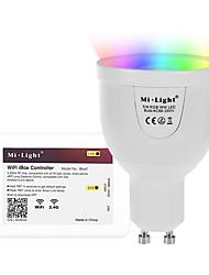 5W Ampoules LED Intelligentes A60(A19) 12 SMD 5730 500 lm RVB + chaudCapteur infrarouge Commandée à Distance Wi-Fi Contrôle de l'APP