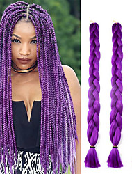 41inch 3pcs box braids jumbo наращивание волос 165g kanekalon hair hair braids цветные jumbo твист крючком косы длинные синтетические