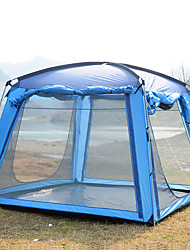 Trackman® 3-4 человека Световой тент Дом с экраном от солнца Один экземляр Палатка Семейные палатки Дожденепроницаемый Защита от пыли