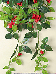 The Artificial Flower Of Artificial Flower Is Decorated The Wall Hanging Flower Wall Hanging Flower Wall Hangs