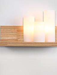 3 E27 simple LED Rustique Fonctionnalité for Style mini,Eclairage d'ambiance Applique murale