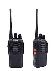 2pcs walkie talkie baofeng bf-888s 16ch uhf 400-470mhz baofeng 888s rádio de presunto hf transceptor amador portátil