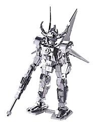 Spirit Cow Machine Armor 3D Metal Assembly DIY Toys Creative Handmade Crafts MX7231-0004 Silver  Professional-Level Tool Set  Display Box 17 #