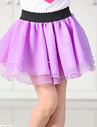 Girls' Solid Skirt-Cotton Summer
