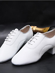 """Men's Modern PU Heels Training Low Heel White Under 1"""""""