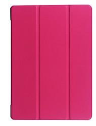 Для футляра для чехлов прозрачный оригами полный корпус корпус сплошной цвет твердая кожа pu для lenovo tb2 x30f a10-30 tab2 10.1