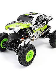 WL Toys 24438-B Rock Climbing Car 1:24 Elettrico con spazzola Auto RC 2 2.4G 1 manuale x 1 x caricabatterie