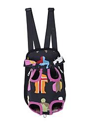 Cat Dog Carrier & Travel Backpack Front Backpack Dog Pack Pet Carrier Adjustable/Retractable Portable Breathable Foldable Soft Geometric