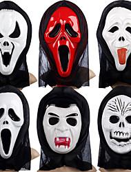 Maschere di Halloween Accessori Halloween Maschera teschio Maschera dipinta a mano Fantasma