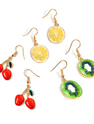 Women's Drop Earrings Fashion Personalized Costume Jewelry Alloy Fruit For Daily Casual Street Going out Wedding Gifts