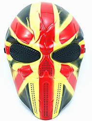 Хэллоуин креативный череп страшный призрак маска wargame главный тактический cs косплей камуфляж союз джек рыцарь маска карнавал маскарад