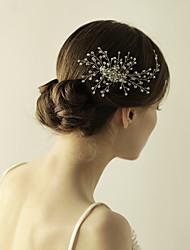 Bridal Hair Acessories Wedding Hair Headpiece Large Bridal Crystal Vine Bridal Hair Comb In Silver Or Gold