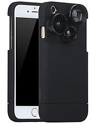 Lente di telefono purecolor iphone6plus / 6splus 5,5 pollici grandangolo 0,65x macro 180 occhio di pesce con obiettivo esterno della shell