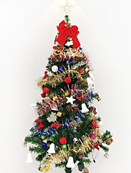1pc 1.5 m / 150cm de cryptage de luxe arbre de Noël décoré salle de séjour suite forfaits hôtel Noël Nouvel An Gif