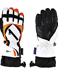 PO57 Motorcycle Gloves Waterproof Cold Windproof Electric Car Riding Gloves Men And Women