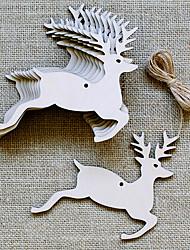 Accessori per feste Ornamenti Serata/evento Giardino Ottone massiccio 10 pezzi