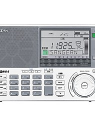 SANGEAN ATS-909X Portable Radio FM Radio Built in out Speaker Alarm Clock White