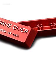 Chave de metal de liga de alumínio entram o conjunto de chave de teclado para teclado de teclado mecânico impresso