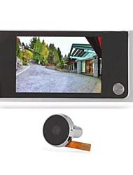 Цифровое электронное видео дверное окно дверное отверстие глазок долгое время ожидания 120 градусов широкий угол