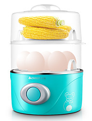 CHIGO ZDQ201Egg Cooker Double Eggboilers Kitchen 220VMultifunction Light and Convenient Cute Low Noise Power light indicator Lightweight Low