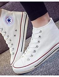 Damen Schuhe Leinwand Frühling Herbst Komfort Sneakers Für Normal Weiß Schwarz Rot Blau