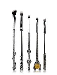 Msq 5 cepillo de sombra de ojos de oro y plata 2 colores opcionales harry potter cepillo mágico cepillo de maquillaje de ojos