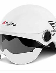 Andes HELMET  S-102 Motorcycle Helmet Electric Car Helmet Men And Women Summer Four Seasons Half Helmet Half-Covered Double Lens Sunscreen