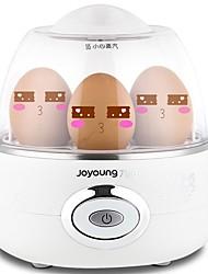 Egg Cooker Eggboilers simples Léger et pratique Style mini Bruit faible Indicateur d'alimentation Détachable 220V