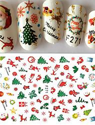 1 Стикер искусства ногтя 3-D Рождество Стикер макияж Косметические Ногтевой дизайн