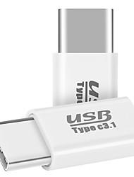 Micro USB 2.0 Adattatore, Micro USB 2.0 to USB 2.0 Tipo C Adattatore Maschio/femmina
