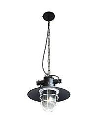 Yy dt-38 110v 220v подвесной светильник ретро железная форма подвесной светильник чердак подвесной светильник регулируемый кафе светильник