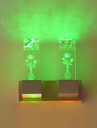 2 LED integrato LED Innovativo caratteristica for Stile Mini,Luce ambient Luce a muro