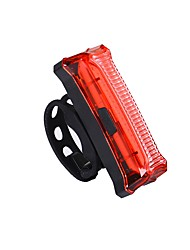 Luce posteriore per bici LED LED Ciclismo All'aperto Luci AAA Lumens USB Rosso Uso quotidiano Ciclismo All'aperto