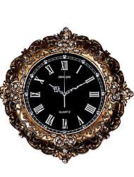 Модерн Традиционный Деревенский Повседневный Ретро Офисный Животные Настенные часы,Круглый Животный принт Резина В помещении Часы