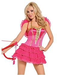 Une Pièce/Robes Conte de Fée Cosplay Fête / Célébration Déguisement d'Halloween Rétro Other Robes Ailes Halloween Carnaval Féminin Unisexe