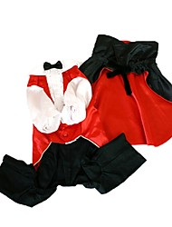 Dog Costume Dog Clothes Cosplay Vampires Ruby