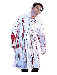 Costumes de Cosplay Pour Halloween Squelette/Crâne Zombie Cosplay Fête / Célébration Déguisement d'Halloween Rétro ManteauHalloween