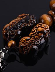 Diy pendentes automotivos pingente de carro de tropas bravas de estilo chinês&Ornamentos de cristal de jade