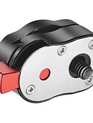 Compacto 1 / 4-20 sistema de placa de liberación rápida para monitores de cámara 4 libras de capacidad